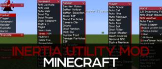 Inertia Utility Mod