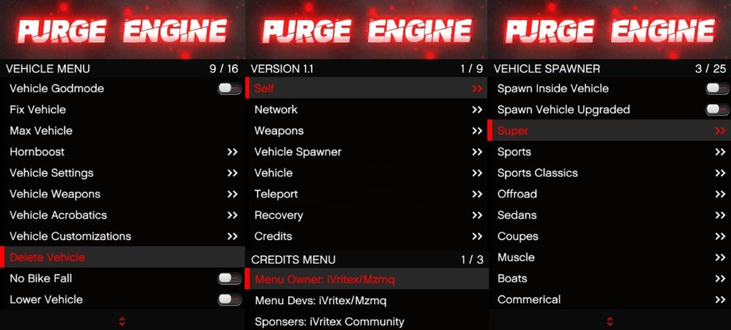 Purge Engine
