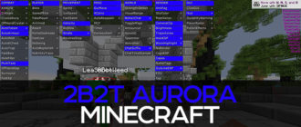 Minecraft 2b2t cheat - Aurora