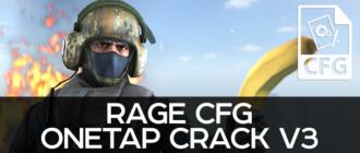 Rage CFG OneTap Crack V3