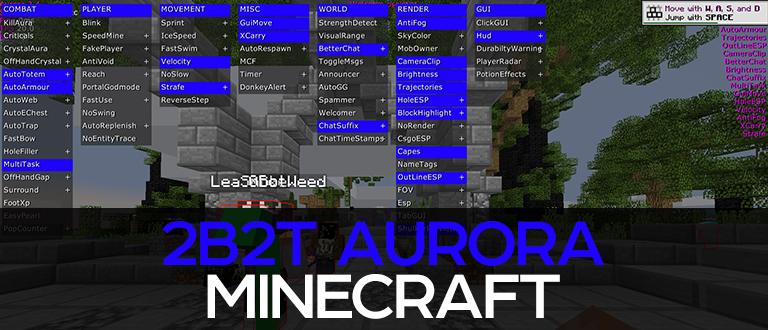 Minecraft 2b2t cheat - Aurora