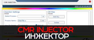 CmRInjector - топовый инжектор.